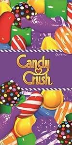 Candy Crush imprimé Serviette de plage 100%  coton