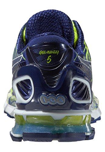 Asics  T3E4Y 0451, Baskets pour homme Blanc (Blue)