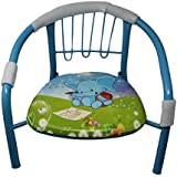 BLUBUD POP N Up/Squeeze Strong Durable Baby Chair With Music (Blue)