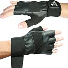 """Weight Lifting Gloves With 12"""" Wrist Support For Gym Workout, CrossFit, Weightlifting, Fitness & Cross Training - The Best For Men & Women - Premium Quality Gear - (Black, XSmall) - 1 Year Warranty"""
