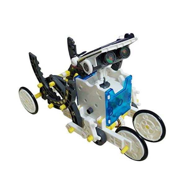 51Kz0ooUvlL. SS600  - JEEMAK 14-en-1 para la Educación Solar Robot Kit