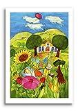 Poster fürs Kinderzimmer von Eva Maria Ott-Heidmann - Kleiner Traum