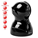Atuten Surveillance Security Drahtlose 3 Millionen Pixel Super HD Indoor 1536P Kamera 350°/100°Schwenkbar, Bewegungserkennung, Nachtsicht, 2-Wege-Audio (Schwarz)