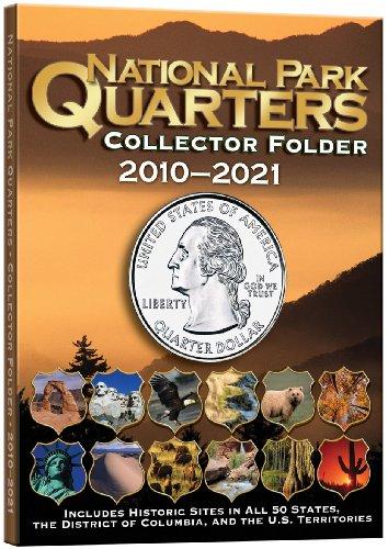 National Park Quarters Collector Folder 2010-2021 por Whitman Publish