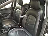 #1: FRONTLINE PU Leather Car Seat Cover For Hyundai Accent