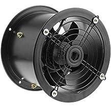 PrimeMatik - Extractor de Aire de Tubo de 200 mm para ventilación Industrial 2550 RPM Redondo