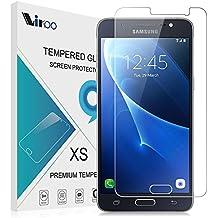 Samsung Galaxy J5 2016 Cristal Templado, Samsung Galaxy J5 2016 Tempered Glass Screen Protector, Vikoo Dureza 9H Protector de Pantalla de Vidrio Templado HD Flim para Samsung Galaxy J5 2016 Smartphone