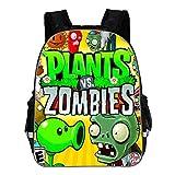 Plants vs. Zombies Mochila para niños Moda Ocio Mochila Impresión de...