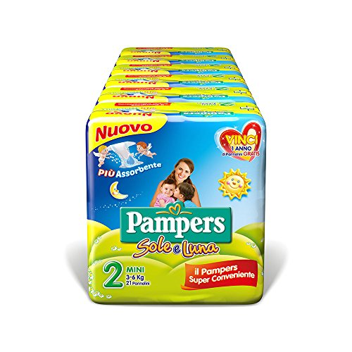 Pampers Sole & Luna Mini-Windeln 2 (3-6 kg)