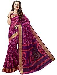 Aarti Apparels Women's Gadwal Cotton Sari_ASHIGadwal017
