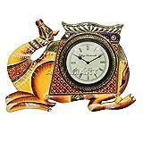 APKAMART Handcrafted Vintage Clock - Cam...