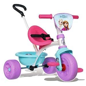 Smoby Toys, 444223, La Reine Des Neiges, Tricycle Be Move pour Enfant