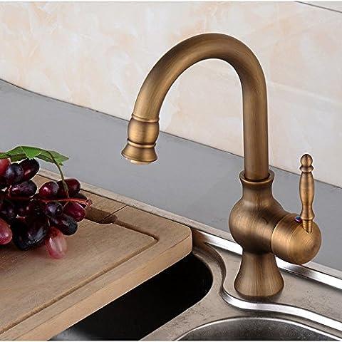 CAC Moderna vasca a cascata Rubinetto miscelatore da bagno monoblocco lavello rubinetto C437 - Camicia Salmon