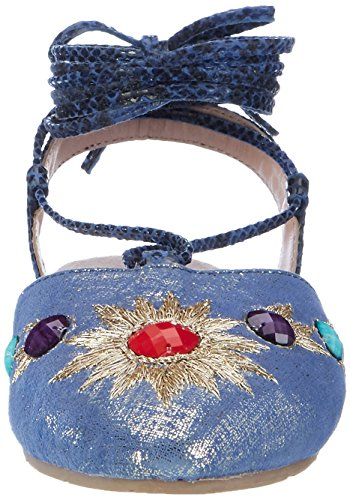 Xyxyx Xyxyx, sac à bride femme Blau (Blue)