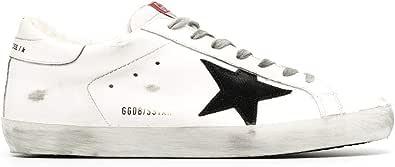 Golden Goose Luxury Fashion Uomo GMF00101F00058110283 Bianco Pelle Sneakers | Autunno-Inverno 20