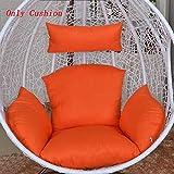 Amaca Sedia Cuscini Senza Stand Easy to Clean Rimovibile Spessore Swing Sedile Cuscino Generico Comodissimo Eleganza,Color11