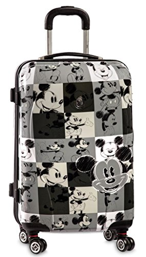 Disney Mickey Mouse 4-Wheel Trolley 601700, color gris oscuro