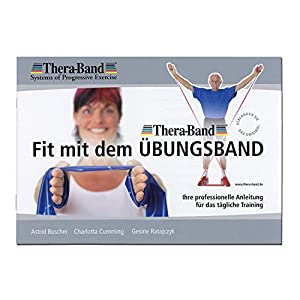 Thera-Band original Übungsband + Übungsbuch gratis color: yellow