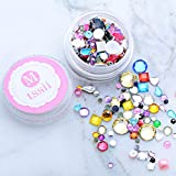 Generic Mtssii 1 Box Multi Irregular Square Nail Rhinestones Colorful Crystal Mixed Size NailStuds Manicure Nail Art Beads Decorations: 01 Amazon Rs. 692.00
