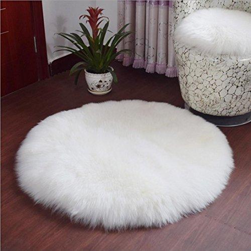 A&b Zubehör Handtuch Baum (squarex Weich künstlichen Schaffell Teppich Stuhlhusse Wolle warm Hairy Teppich Sitz Pad)