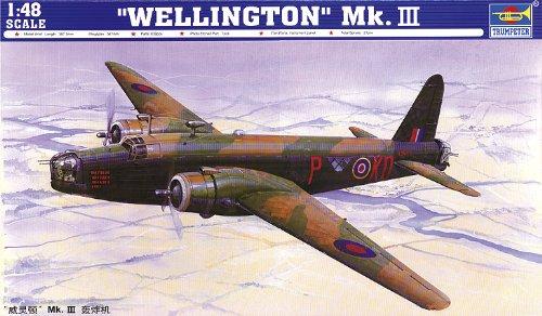 Trumpeter 02823 Modellbausatz Wellington Mk. III