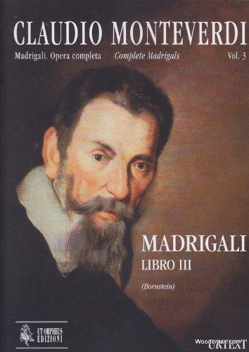 PARTITIONS CLASSIQUE UT ORPHEUS MONTEVERDI C    MADRIGALI LIBRO III   CONDUCTEUR CHOEUR ET ENSEMBLE VOCAL