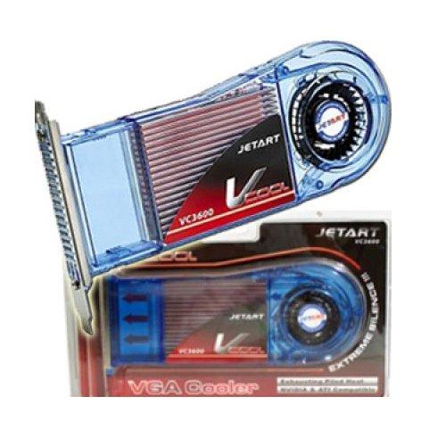 JetArt V-VGA-VC3600 Grafikkartenkühler, Messing, ATI/Nvidia GF MX440/4200 FX5200-7800 ATI 9000-9700/X1300 (Nvidia Fx5200)