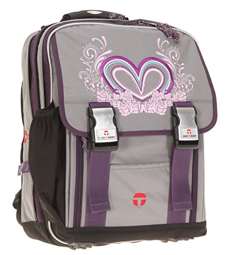 Lovely Heart LONDON Schulrucksack Rucksack Take It Easy