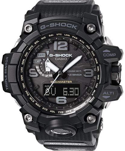Casio orologio analogico quarzo uomo con cinturino in plastica gwg-1000-1a1er