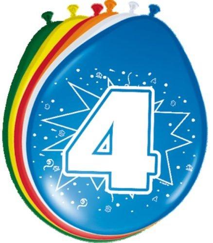Folat 8Globos para el 4. Cumpleaños