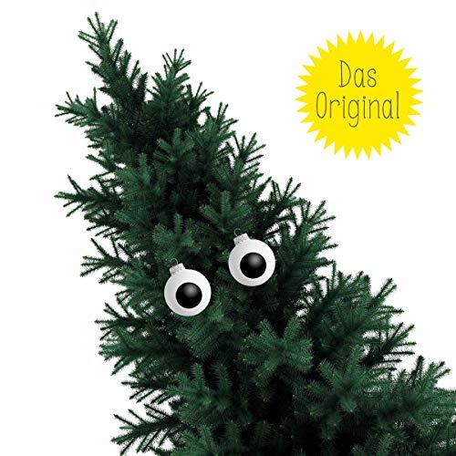corpus delicti :: Christbaumschmuck (2er Set) / Weihnachtskugel Auge