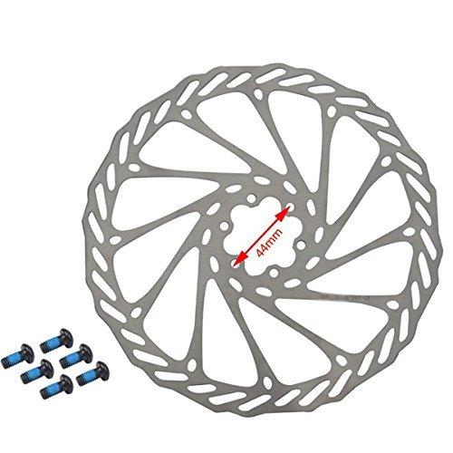 Gymforward Hemeraphit 2 pcs Vélo de Montagne Rotors G3 Vélo Disque de Frein Rotors en Acier Inoxydable avec Gratuit 12 boulons M 203mm