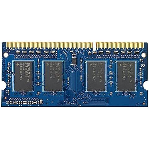 HP 4GB DDR3-1600 4GB DDR3 1600MHz módulo de - Memoria (DDR3, Portátil, 204-pin SO-DIMM, 1 x 4 GB)
