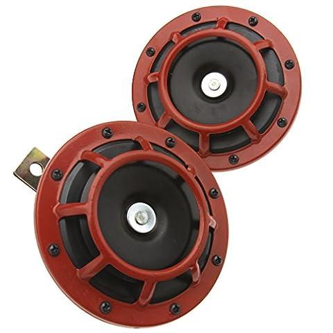 Haut-parleurs de voiture 139dB 12V Klaxons Super Tone pour Subaru Impreza Dual Horns auto Grille
