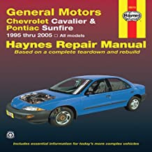 General Motors Chevrolet Cavalier & Pontiac Sunfire: 1995 thru 2005