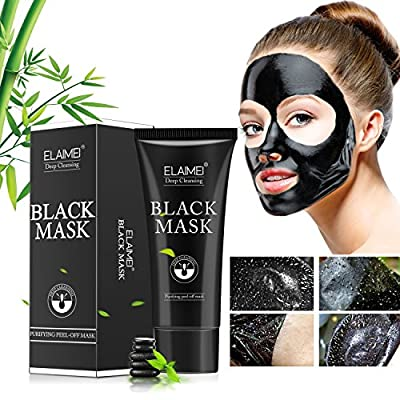 Blackhead Peel Off Mask,Black Face Mask,Blackhead Remove Mask,Deep Cleansing Mask,Purifying Acne Mask by Moulis