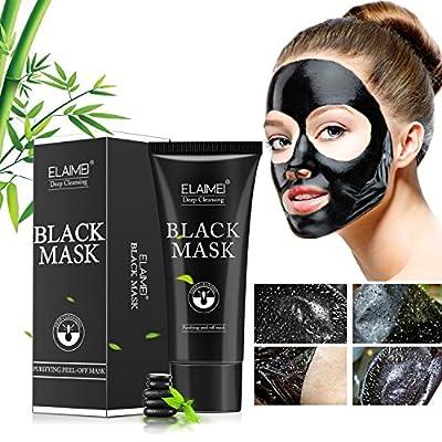 ELAIMEI Blackhead Peel Off Mask,Black Face Mask,Blackhead Remove Mask,Deep Cleansing Mask,Purifying Acne Blackhead Mask from Moulis