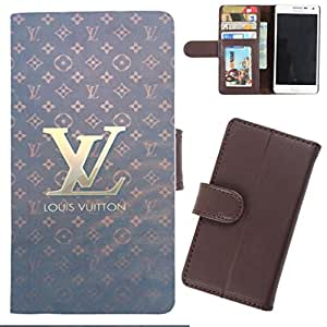DooDa - For Micromax Yu Yuphoria PU Leather Designer Fashionable Fancy Wallet Flip Case Cover Pouch With Card, ID & Cash Slots And Smooth Inner Velvet With Strong Magnetic Lock