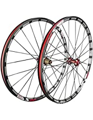 ZNND 27.5 Pulgadas Ruedas De Bicicleta, Doble Pared Ultra-Ligeras Rodamiento Sellado MTB Rim