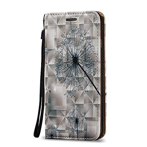 iPhone Case Cover Pour iPhone 7 3D Relief Feather Pattern Flap Horizontal Housse en Cuir avec Titulaire & Card Slots & Lanyard ( SKU : Ip7g0621d ) Ip7g0621b