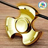 #9: Smiles Creation Metal Fidget Spinner Toy Stress Focus Toy Relieves Boredom more than 3 minutes Spin Time!