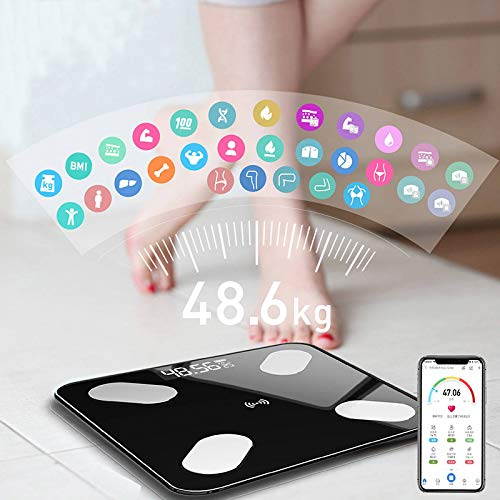 Smart Home Bathroom Scales Led Screen Body Fgrease Electronic Weight Body Composition Analysis Health Scale