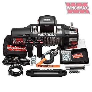 Cheap ELECTRIC WINCH 12V 4x4 13500 lb SL WINCHMAX DYNEEMA MIL SPEC
