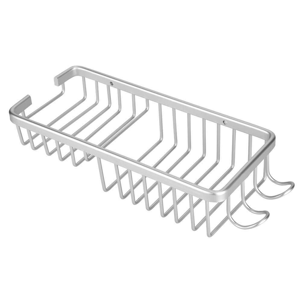 ABS cromado organizador para barras de ducha de 18-25 mm Geeignet f/ür Badezimmer Soporte de ducha port/átil con estante para ba/ño