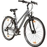 BBF 28 Zoll Toulouse 21 Gang Crossrad Trekking Touren Fahrrad Nexus mit Beleuchtung und Schutzblechen, Rahmengrösse:44 cm