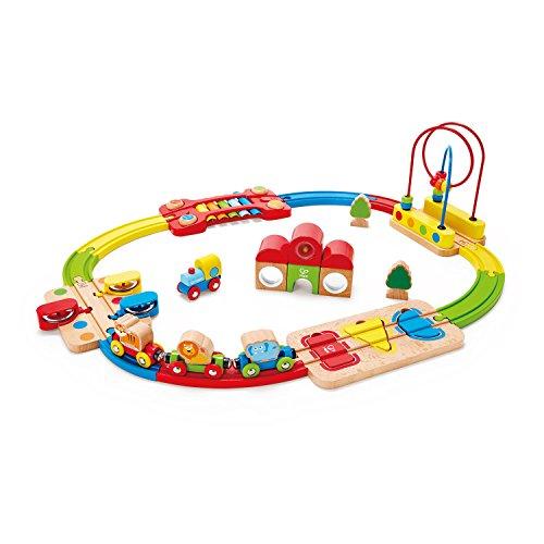 Hape 3826 Regenbogen-Puzzle Eisenbahnset