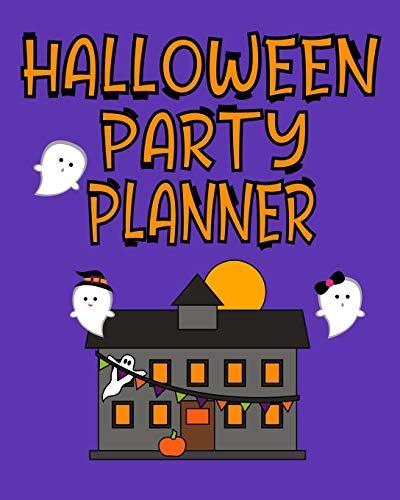 Halloween Party Planner: Halloween Themed Organizer Journal For October