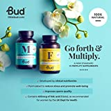 Bud Male Fertility Supplement | Natural Fertility Vitamins for Men | Maca + Zinc, Selenium & L-carnitine for Better Sperm Quality & Male Reproductive Health | 60 Tablets - Made in UK