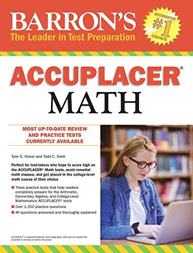 Accuplacer Math por Tyler S. Holzer