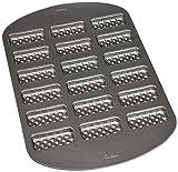 Wilton 0266306Kuchenform von 18Mulden Waffle Metall 22,0x 15,0x 4,0cm